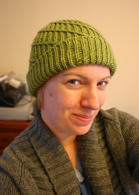 Spiral Ribbed Hat