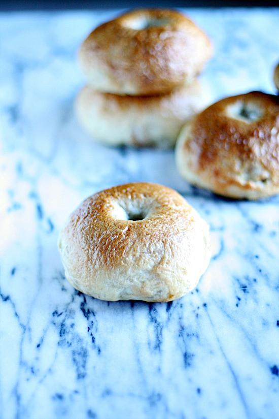 Cinnamon Roll Bagels