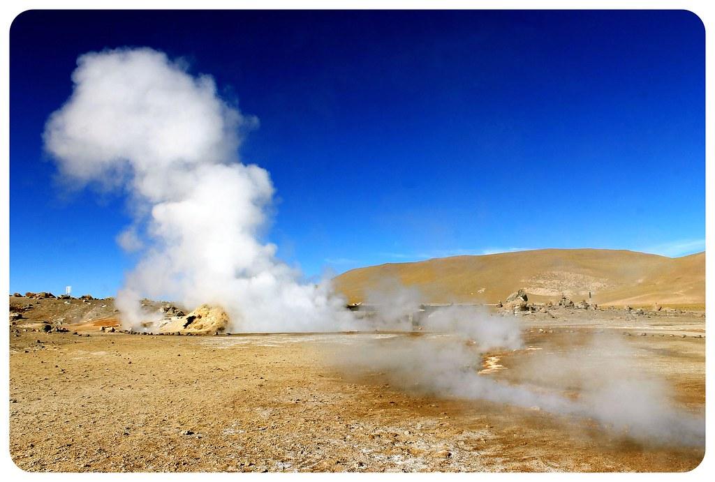 el tatio geyser field atacama desert chile