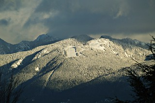 Snow Covered Grouse Mountain