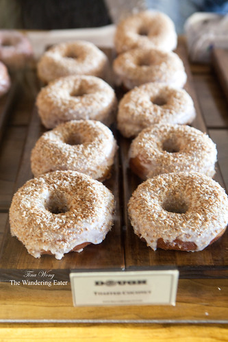 Toasted coconut doughnuts by Dough