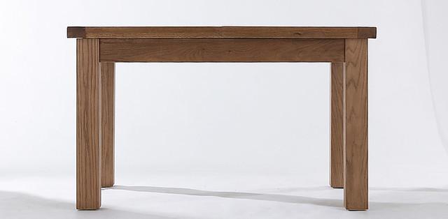 Farmhouse 1 3 Table This Beautiful Oak And Oak Veneer