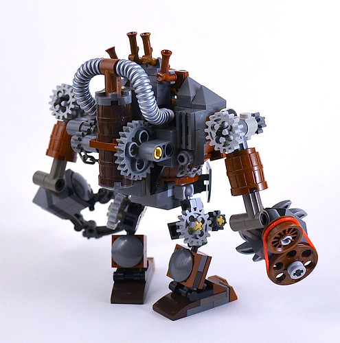 Ork Shredder - back