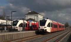Arriva Spurt op station Winschoten 26-02-2014