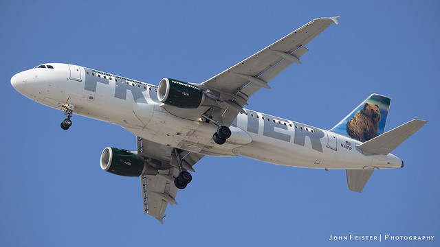 Frontier N211FR - Indianapolis International Airport
