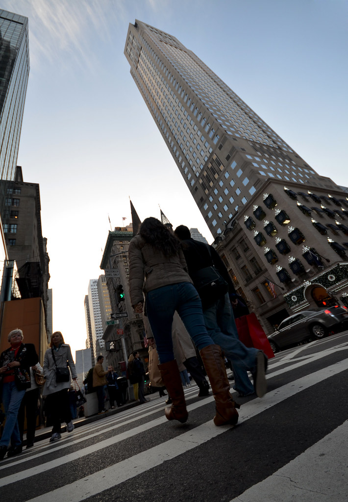 Paseando entre rascacielos de Nueva York