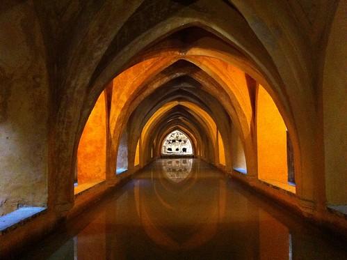 Los baños de Maria Padilla (Sevilla)