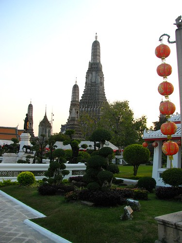 Jardines del Wat Arun