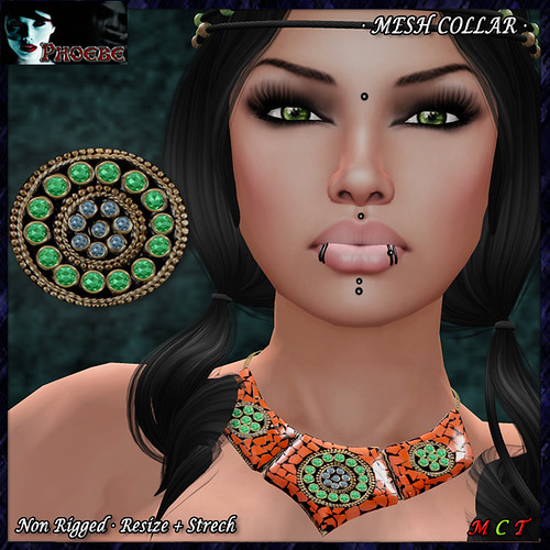 OFFER! *P* MESH Aztec Collar ~Terra~