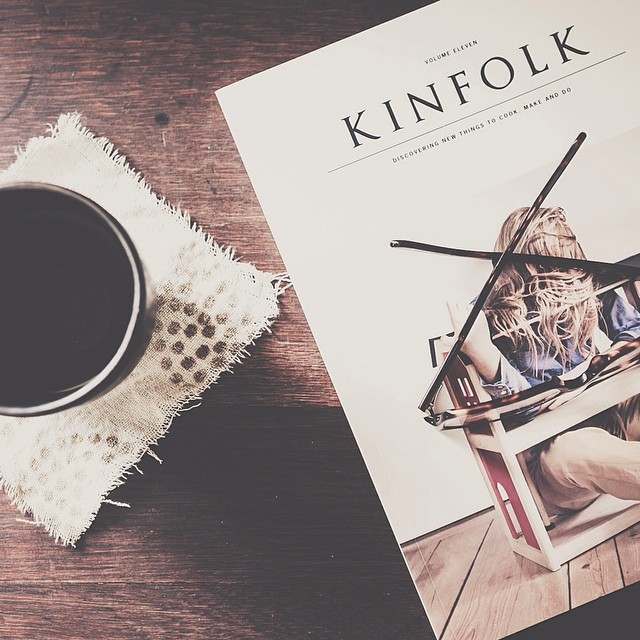 Arrived!! Kinfolk volume 11. Can't wait to soak up the inspiration. Thank you @kinfolk .... you always inspire. #kinfolk #lovely #ilovemail   #vscocam #fromabove  #fromwhereistand