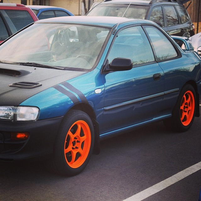 I Ve Got My Summer Wheels On Tommy Subaru Impreza Flickr