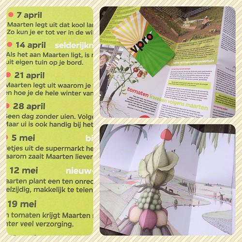 Maartens moestuin - post van de vpro