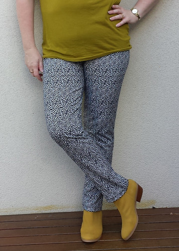 Style Arc Elle pants in ponte from Darn Cheap Fabrics