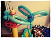 Balloon bunny- happy Easter and Passover!