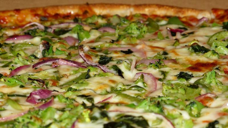 Desi style pizza