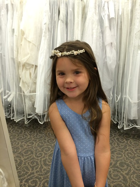 Say Yes To The Flower Girl Dress
