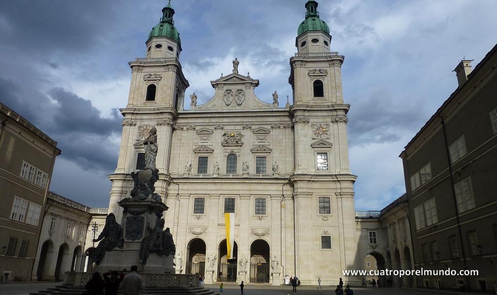 Callejeando por Salzburgo antes de coger el autobus