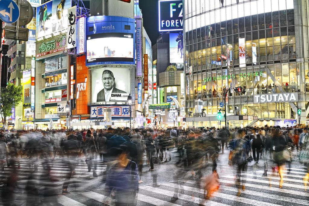 渋谷ハチ公交差点