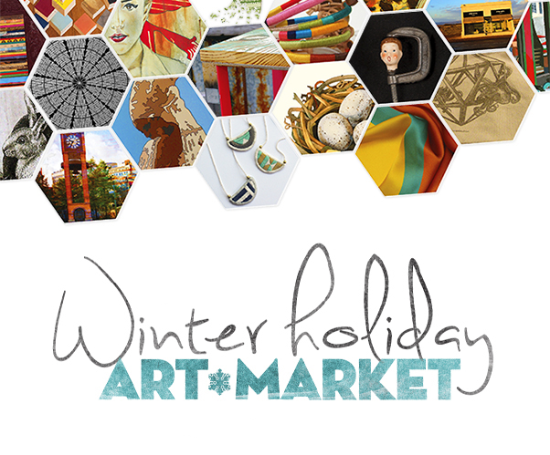 The 8th Annual Winter Holiday Art Market is November 21-23rd at Winter Street Studios, brought to you by Fresh Arts!