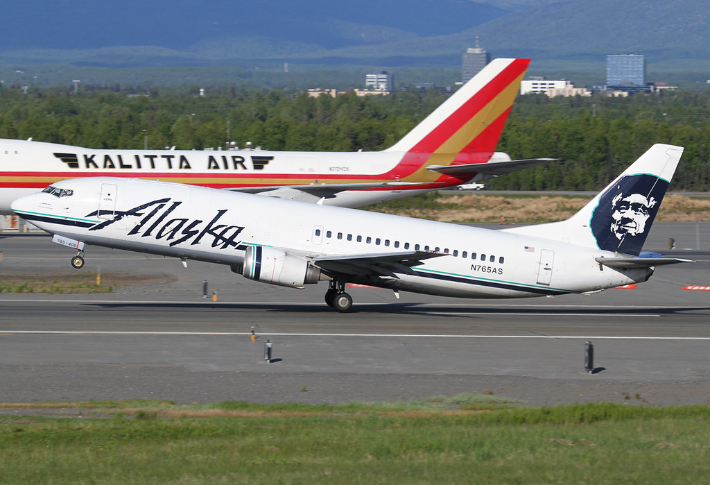 Departing from RWY33 with Kalitta's N704CK behind. Delivered 10/1992.