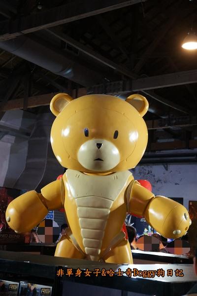 松山文創園區2015鋼彈模型博覽會35週年紀念活動04