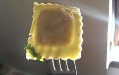 Cinque formaggio ravioli