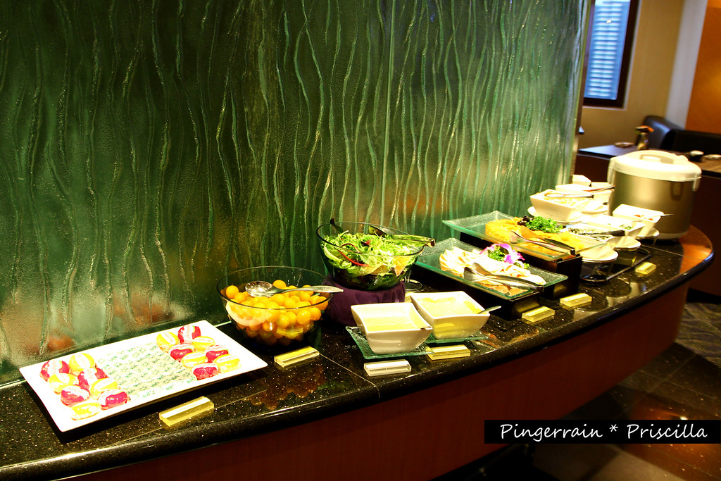 Breakfast in Club Lounge - Cold Cuts and Salad