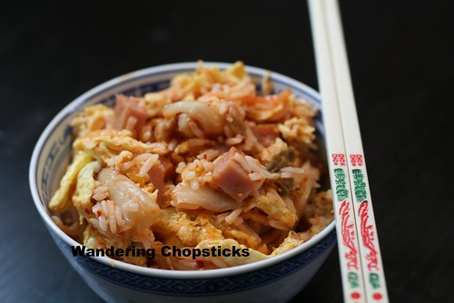 Fried Rice with Kimchee and Spam 2