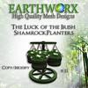 Earthworx Luck of the Irish Planters Ad