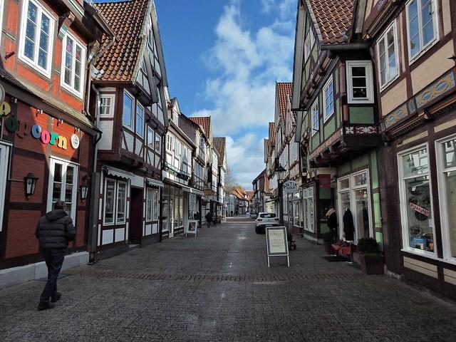 Celler Altstadt die Fachwerkstadt...