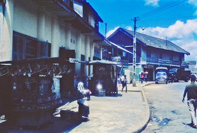 Street scene, Dalat.