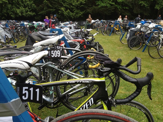Shawnigan Lake Tri check-in May 25