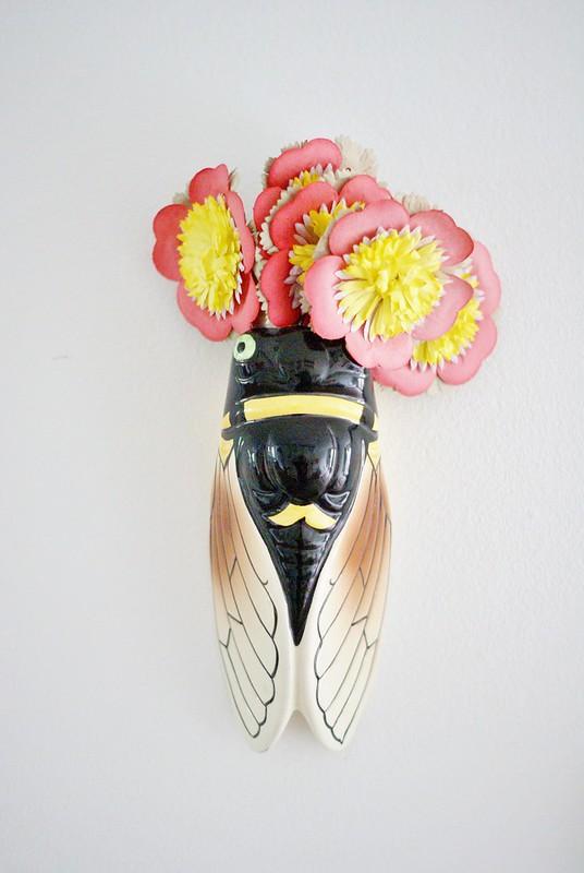 cigale & fleurs