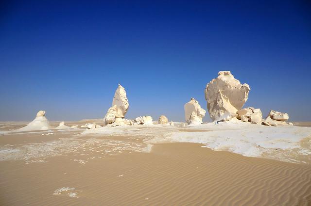 Desierto Blanco, Egipto