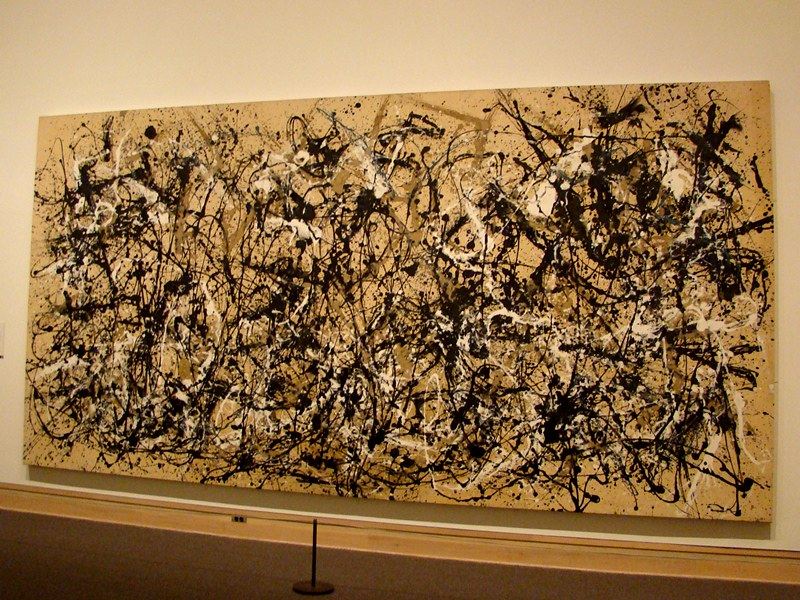 Jackson Pollock at The Met