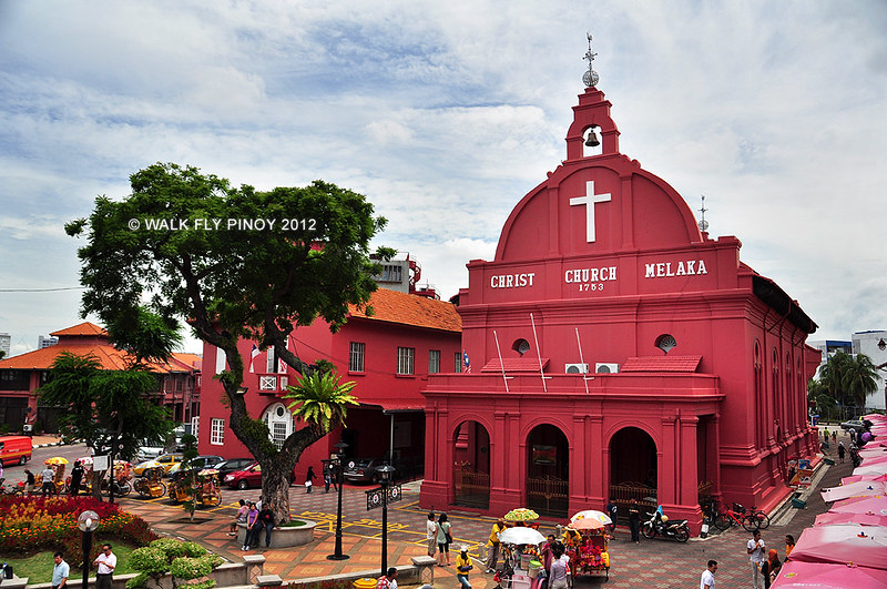 Christ Church and Red Square, Malacca, Malaysia
