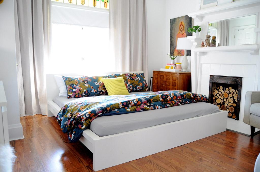 Target Duvet in Bedroom