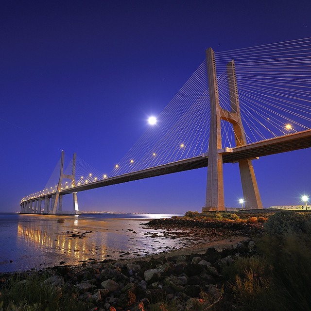 Vasco da Gama bridge - Lisbon, Portugal
