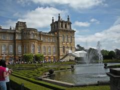 blenheim palace - gardens