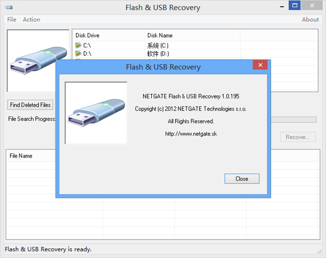NETGATE Flash & USB Recovery 1.0.195 序列号