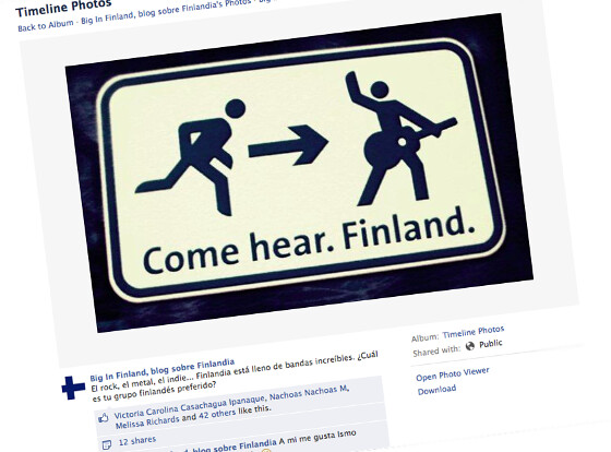 Our post about Finnish music groups