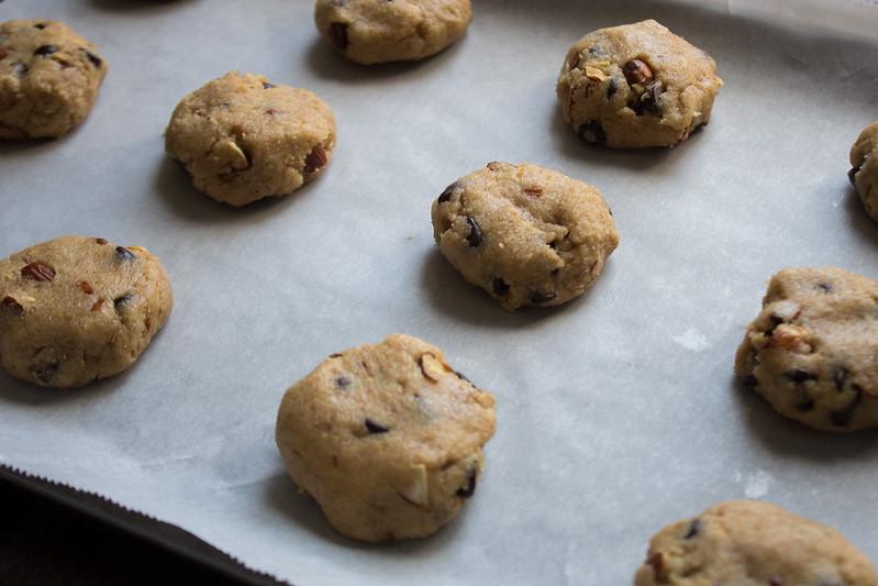 cookies, pre-oven