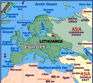 Where in the world is Lithuania?