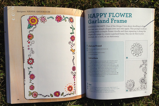 Craft-a-doodle: Happy Flower Garland/Frame by Hanna Andersson