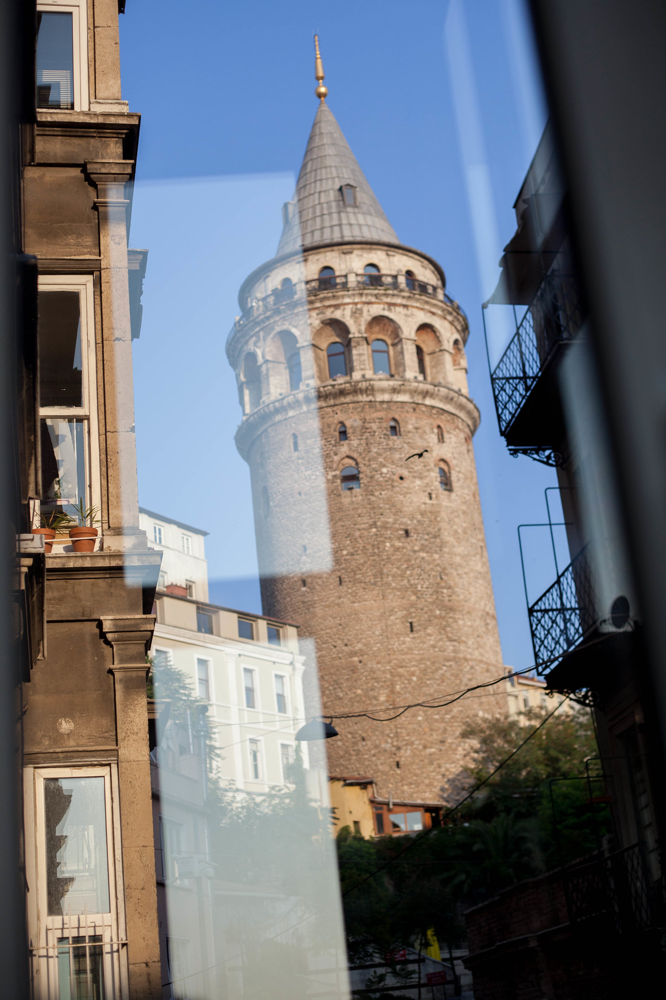 Galata Tower from our apartment.