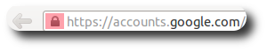 Candado en Mozilla Firefox