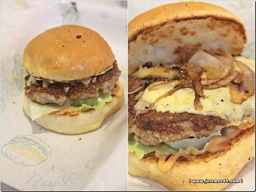 Oink Oink Burger @ Ric's Burger, Bayan Baru