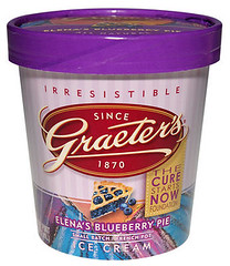 Elena's Blueberry Pie ice cream