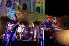 Musicians performed @ National Museum of Singapore - Singapore Night Festival