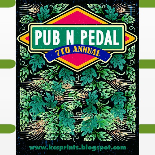 "This Saturday! Pub N Pedal 7! Join us for the best bicycle pub crawl/scavenger hunt/""race"" in Kansas City. See www.KCSprints.blogspot.com for details. Oh... and it's FREE to play!"